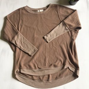 A'reve brown sweatshirt